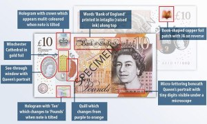 new bank of england jane austen tenner £10
